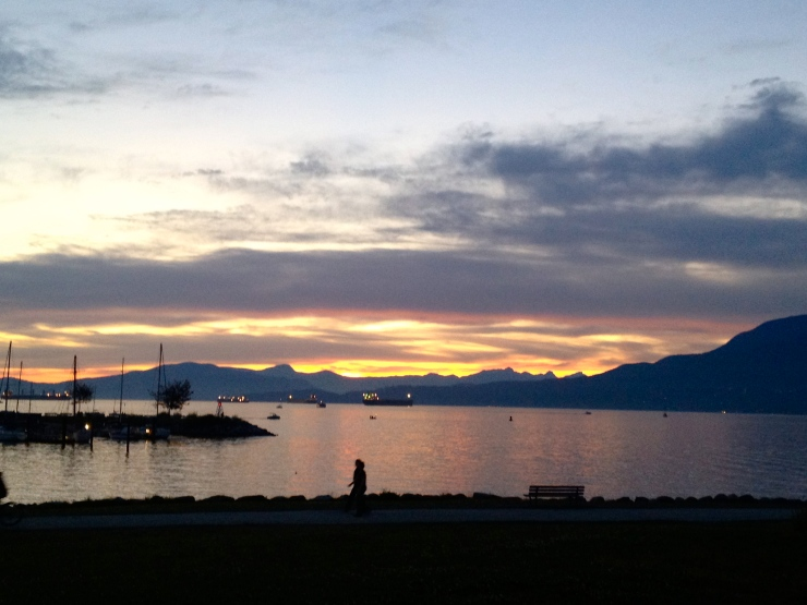 grandville sunset in vancouver by cheeky baker