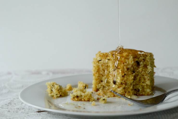 browned butter rosemary cornbread