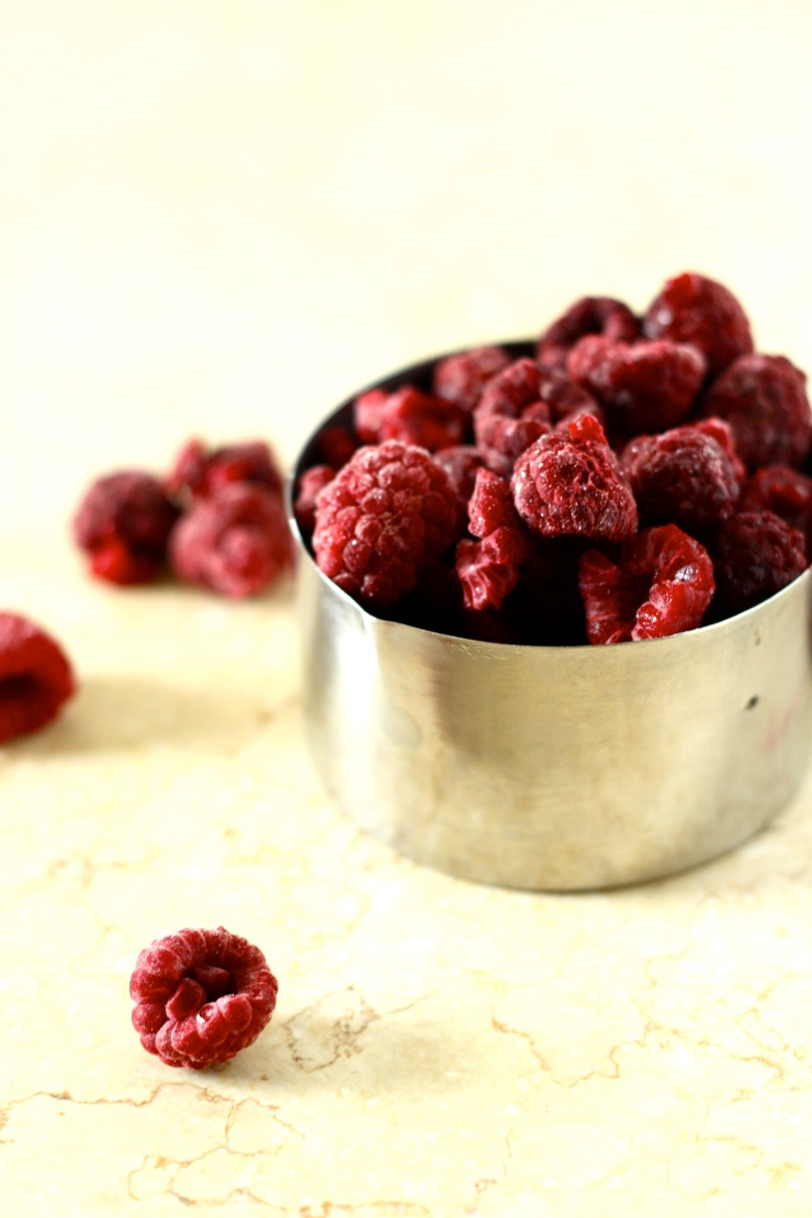 raspberries for tart {gf & sugar-free} by cheeky baker