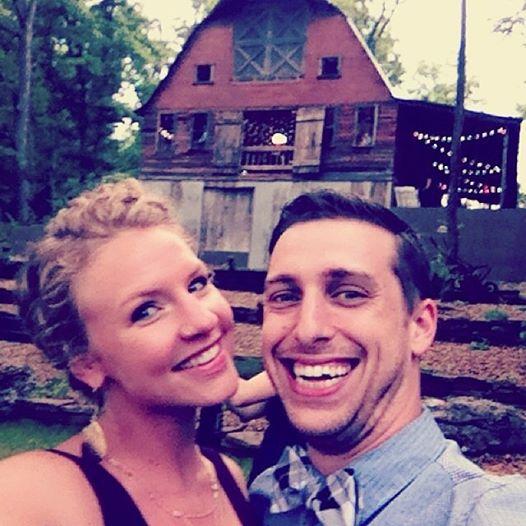 Matt & Anna @ Jack's wedding {by cheeky baker}