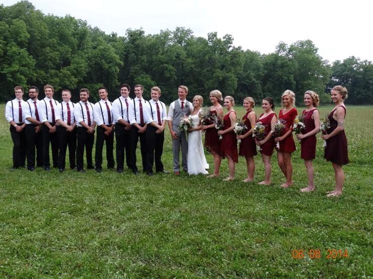 Wedding Party @ Jack & Rachelle's wedding