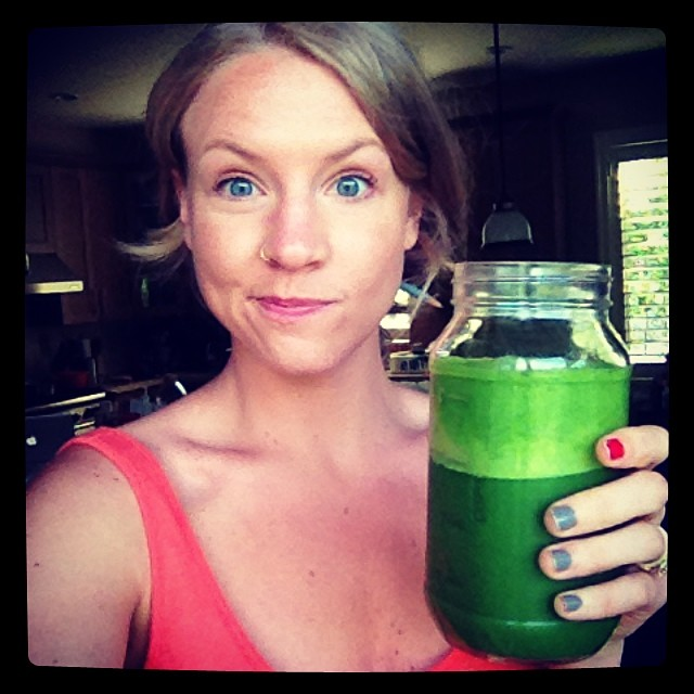 Green Smoothie {21 dsd} by cheeky baker