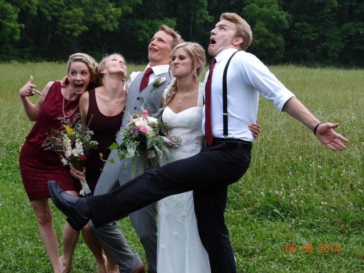 Pollock Siblings @ Jack & Rachelle's wedding