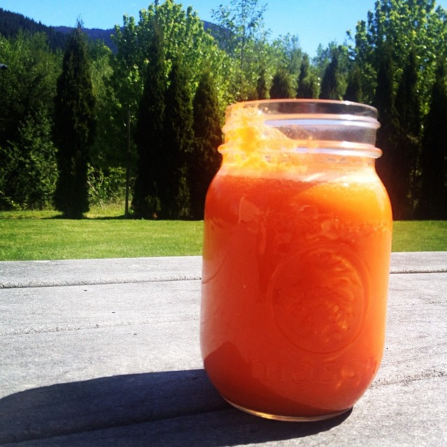 Carrot Juice {21dsd}  by cheeky baker