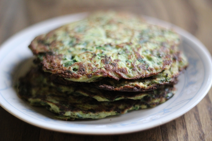 Zucchini Pancakes {21 dsd} by cheeky baker