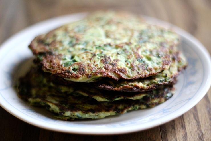 Zucchini Pancakes {gluten-free, dairy-free, sugar-free, paleo, 21 dsd friendly}