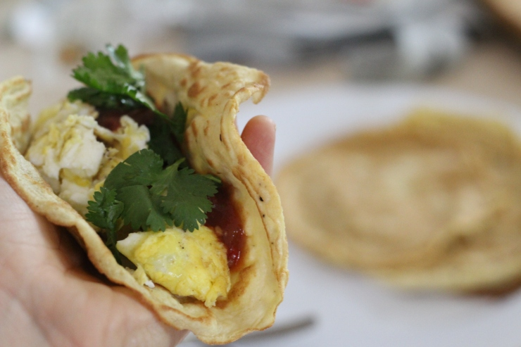 Breakfast Taco {21 dsd} by cheeky baker