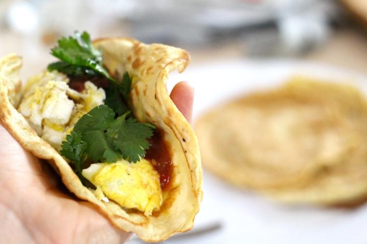 Breakfast Tacos {gluten-free, dairy-free, sugar-free, paleo} by cheeky baker