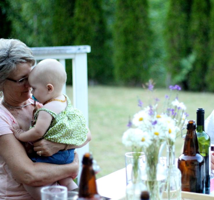 Grandma & Ember, Precious Moment {by cheeky baker}