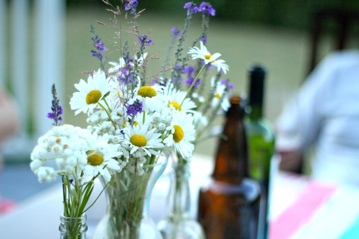 Wildflower Table Setting {by cheeky baker}