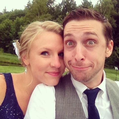 matt & i wedding hotties