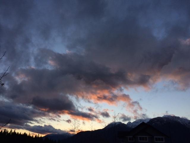 squamish sunset